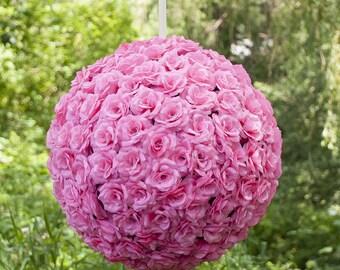 20 In. Silk Flower Ball