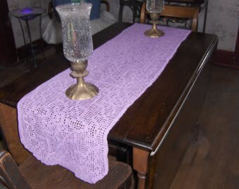 Crochet Table scarf