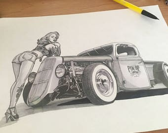 Pin ups and ratrods