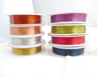 0.4 mm At choose Fine Brass Jewelry Wire / WIRES / Fine Brass /Choose your color