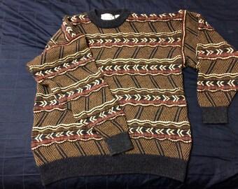 Vintage Duplex Designs Sweater