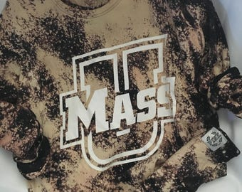 UMASS Bleached Destroyed Long Sleeve