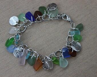 Loaded Swarovski Charm Bracelet