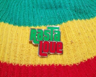 Rasta Love enamel Pin