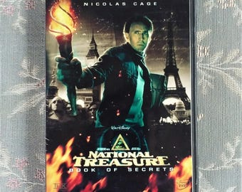 National Treasure Free Shipping DVD Movie Nicolas Cage, Diane Kruger, Justin Bartha Action Adventure Family