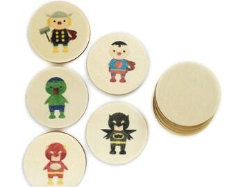 Superheroes - Mini Match | Memory Match