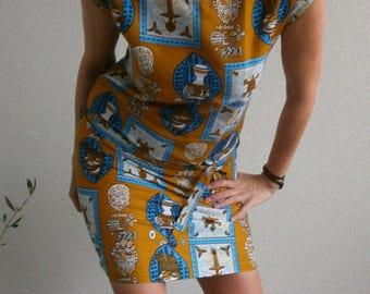"""""""Amaharique"""" - designer Rastalafe minimalist dress"""