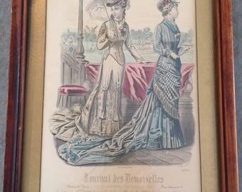 1878 Journal Des Demoiselles #4164 Print