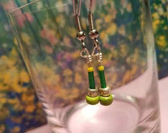 Key Lime (Handmade Earrings)