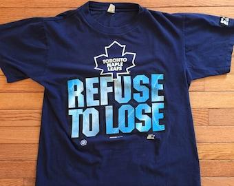 1994 starter Toronto maple leafs tee