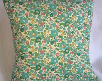 Liberty Betsy green Cushion cover