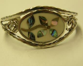 Sterling Silver Cuff Bracelet - Small Wrist
