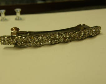 Antique Crystal Hair Clip