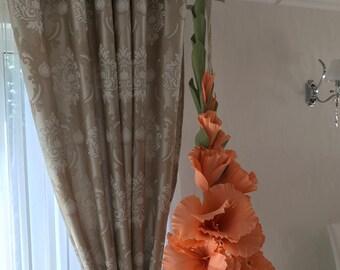 Flower Gladiolus decoration huge paper with stalk, home decoration