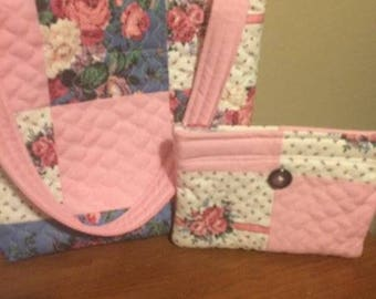 Tote/Purse with Coin Purse