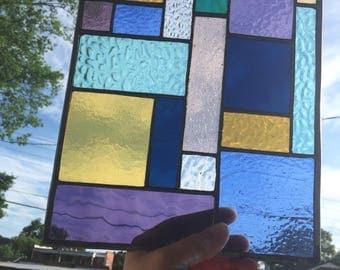 Multi Colored Quad Panel