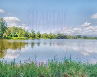 Landscape Lake Photograph