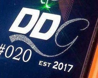 Dodge Dart Girls member decal