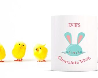 Easter Chocolate Mug personalised