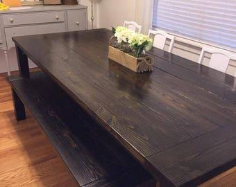 Custom Farmhouse Dining Table