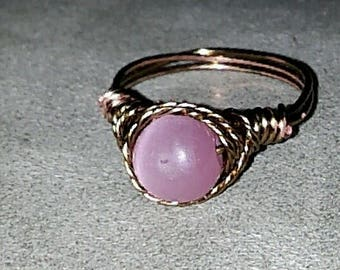 The Pink Twist Ring
