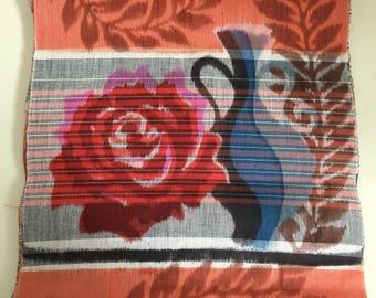 Vintage Japanese Cotton Fabric