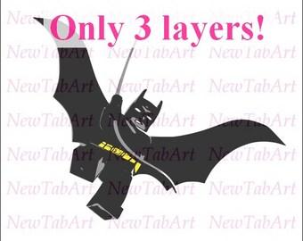 Batman Lego svg lego batman svg super hero svg superhero svg svg files for Cricut Silhouette