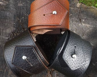 """Leather strap """"Nordic"""""""