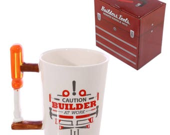 Screwdriver Handle Mug | Builders | Gift