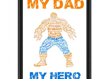 Marvels The Thing father's day picture present or gift