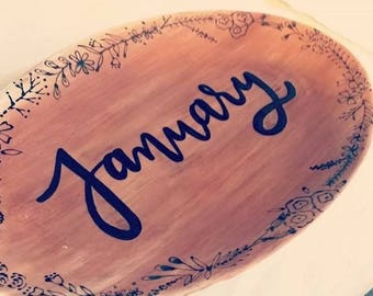 Personalized Serving Dish