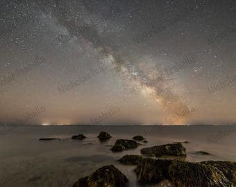 Milky Way Galaxy Over Long Island - Fine Art Astrophotography