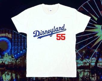 Disneyland Dodgers Tee (White)