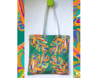 Abstract Cheese Plant Tote Bag