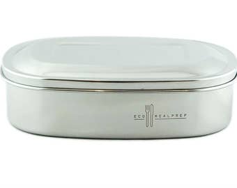 DUO Stainless Steel Snack Container