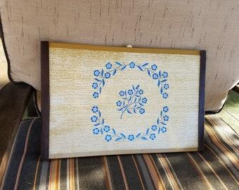 Vintage warming tray