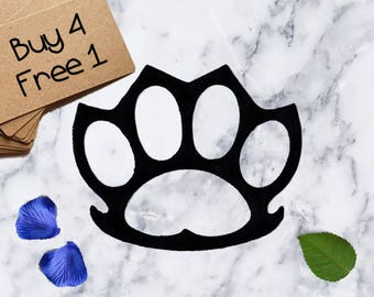 Cat Paw Patches Funny Cat Patches Iron On Patch Applique Patches For Jackets