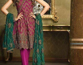 pakistani designer replica dress