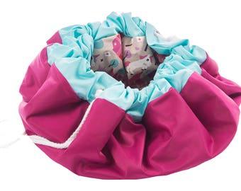 Mat storage bag storage bag mat for children new handmade 100 cm x 100 cm