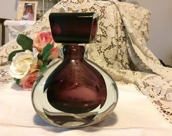 Stunning Large Perfume Bottle!