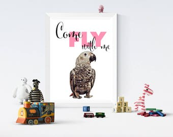 Come fly with me print