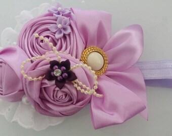 Unique purple headband