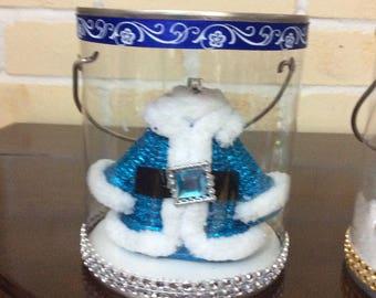 DIY Christmas - Blue Coat