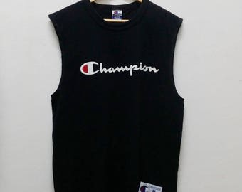 Vintage CHAMPION Big Logo shirt -A013
