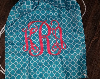 Monogrammed Bags, Drawstring Bags, Kids bags, Beach bags, Gift bags, Personalized Accessory