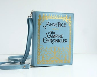 The Vampire Chronicles Leather Book Bag Anne Rice Book Purse