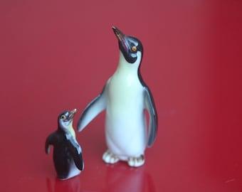 Porcelain penguins