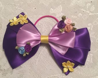 Disney Princess Rapunzel inspired bow