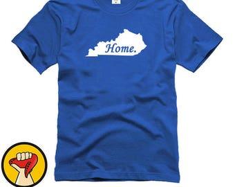 Kentucky Home State Tee Shirt T-Shirt More Colors XS - 2XL
