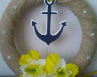 "12"" Anchor Wreath"